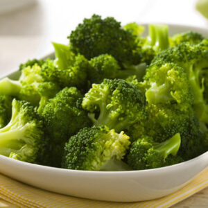 Broccoli al vapore *