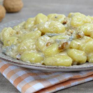 Gnocchetti della casa con gorgonzola